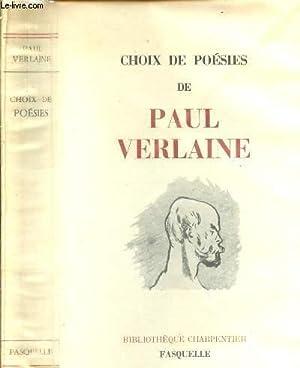 CHOIX DE POESIE: VERLAINE PAUL