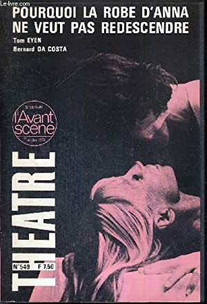 L'AVANT SCENE THEATRE N°549 - 1er octobre: COLLECTIF