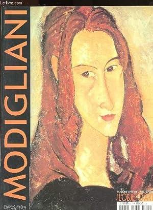 L'objet d'art n° spécial : Modigliani -: Marin-David Sophie, Restellini