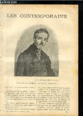 Antoine-Louis Barye, sculpteur (1796-1875). LES CONTEMPORAINS N°: E. Angelo