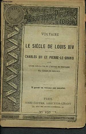 Nouvelle bibliothèque populaire n°127 : le siècle: Voltaire, Simond Charles