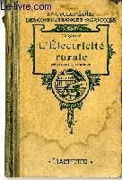 L'électricité rurale: PORCHET M.