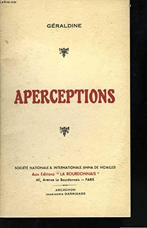 Aperceptions: GERALDINE