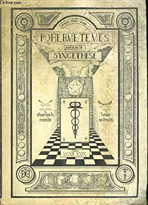 Pohermétèmes, suivis de la Syncéthèse: CAMBES Charles H., SEDNAN Louis