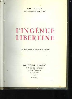 L'ingénue libertine. Dix Illustrations de Maurice Pouzet: COLETTE