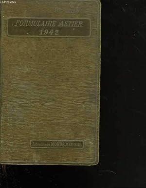 Formulaire Astier. 9è édition. Vade-Mecum de Médecine: COLLECTIF
