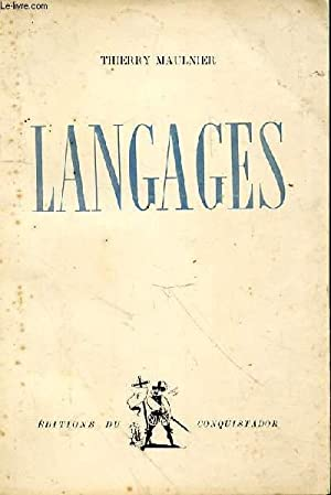 Langages: MAULNIER Thierry