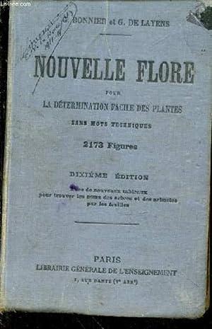 Nouvelle Flore pour la détermination facile des plantes sans mots techniques: BONNIER Gaston...