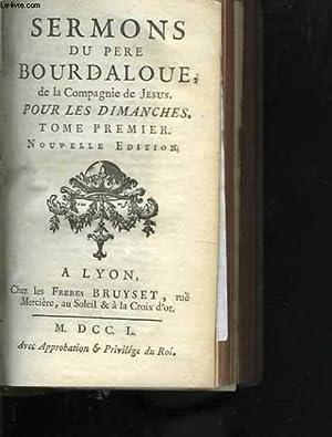 Sermons du père Bourdaloue, de la compagnie