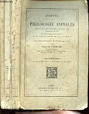 Anatomie et physiologie animales - 3e EDITION: PERRIER EDMOND