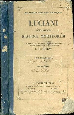 Dialogi mortuorum: SAMOSATENSIS Luciani