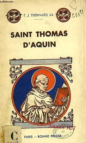 SAINT THOMS D'AQUIN: THONNARD F.-J., a.a.