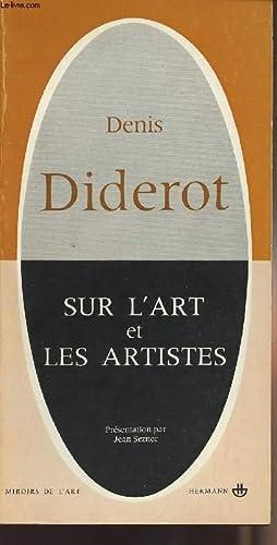 Sur l'art et les artistes - collection: Diderot Denis