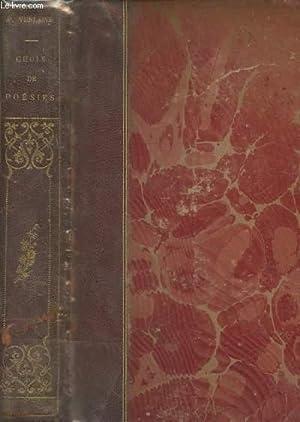 Choix de Poésies avec un portrait de: Verlaine Paul