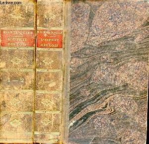 De l'esprit des lois - Tomes 1: Montesquieu