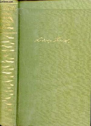 Frühe Erzählungen und romane.: Tieck Ludwig