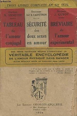 3 livres complets en un seul : Dr Venette N./Drs