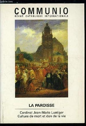 Communio n° 4 - La paroisse, ruine: Collectif