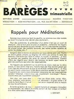 BAREGES, N° 26, 1940: COLLECTIF