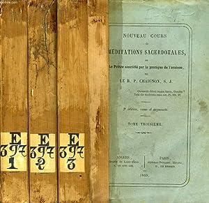 NOUVEAU COURS DE MEDITATIONS: CHAIGNON R. P., S. J.