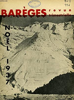 BAREGES, N° 16, NOEL 1937: COLLECTIF