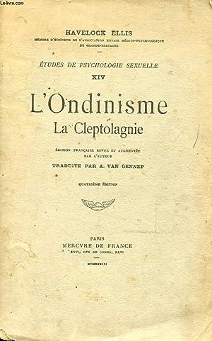 ETUDES DE PSYCHOLOGIE SEXUELLE XIV - L'ONDINISME: HAVELOCK ELLIS