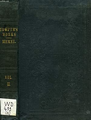 THE WORKS OF WILLIAM COWPER, VOL. II: COWPER WILLIAM