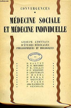 MEDECINE SOCIALE ET MEDECINE INDIVIDUELLE: COLLECTIF