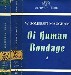 OF HUMAN BONDAGE, 2 TOMES: MAUGHAM Somerset