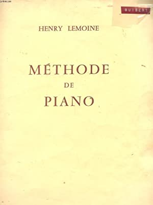 METHODE DE PIANO: HENRY LEMOINE
