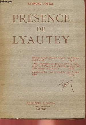 PRESENCE DE LYAUTEY: RAYMOND POSTAL