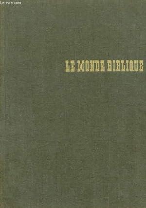 LE MONDE BIBLIQUE: HANS WILDBERGER