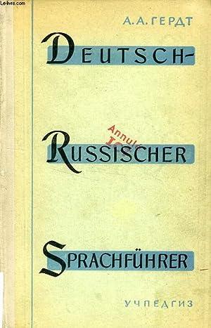 DEUTSCH-RUSSISCHER SPRACHFUHRER: HERDT ALBERT