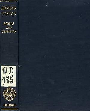 RUSSIAN SYNTAX, ASPECTS OF MODERN RUSSIAN SYNTAX: BORRAS F. M.,