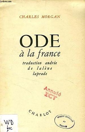 ODE A LA FRANCE: MORGAN CHARLES