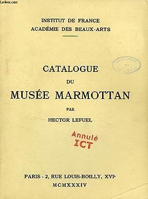 CATALOGUE DU MUSEE MARMOTTAN: LEFUEL HECTOR