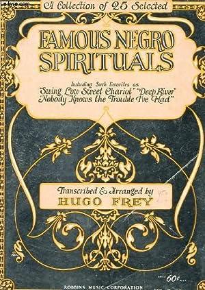 FAMOUS NEGRO SPIRITUALS: HUGO FREY
