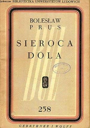SIEROCA DOLA: PRUS Boleslaw