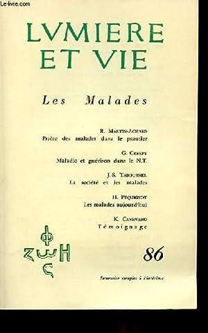 N° 86 - LES MALADES: LUMIERE ET VIE