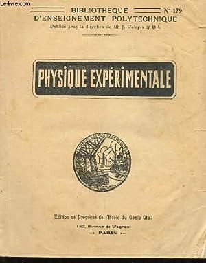 PHYSIQUE EXPERIMENTALE: COLLECTIF