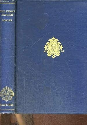 THE KING'S ENGLISH: H. W. FOWLER