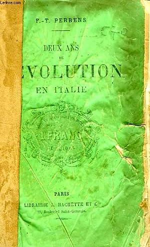 DEUX ANS DE REVOLUTION EN ITALIE (1848-1849): PERRENS F.-T.