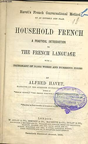HOUSEHOLD FRENCH: ALFRED HAVET