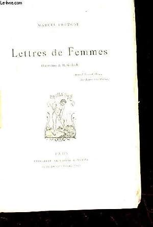 LETTRES DE FEMMES: PREVOST MARCEL