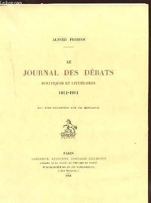 LE JOURNAL DES DEBATS POLITIQUES ET LITTERAIRES: PEREIRE ALFRED