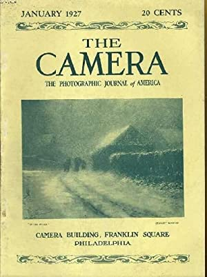 LOT DE 9 MAGAZINES : THE CAMERA, THE MAGAZINE FOR PHOTOGRAPHERS N° JANUARY TO SEPTEMBER 1927: ...