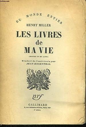 LES LIVRES DE MA VIE. ( BOOKS: MILLER HENRY.