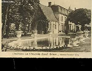 CARTE POSTALE. PHOTO EN NOIR ET BLANC DU CHATEAU LA MISSION HAUT BRION