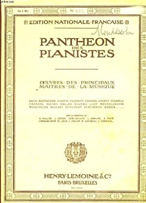 PANTHEON DES PIANISTES