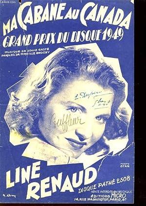 MA CABANE AU CANADA GRAND PRIX DU: LINE RENAUD/DARIO MORENO/GEORGES